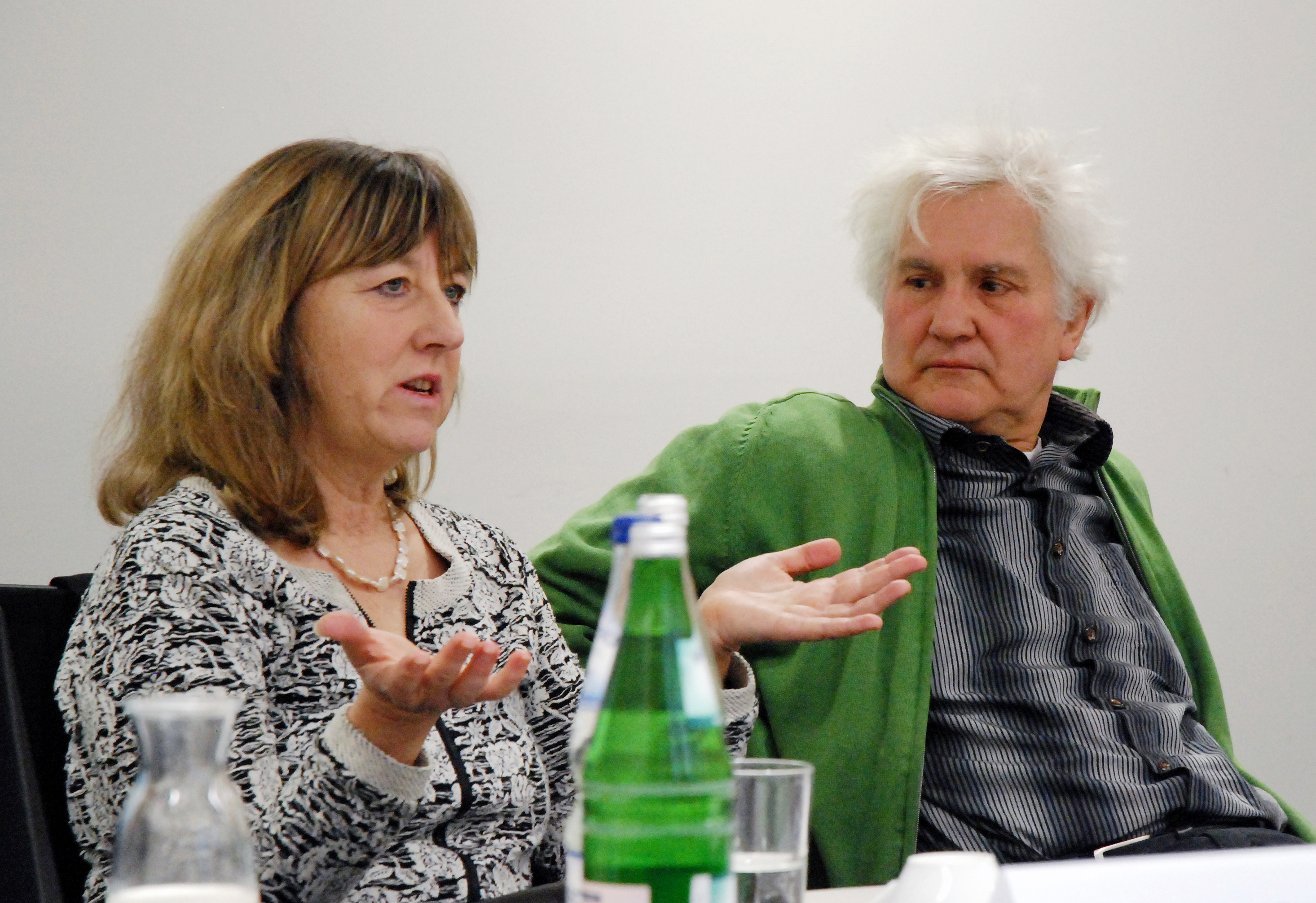 von links nach rechts: Sylvia Witte, Winfried Ponsens