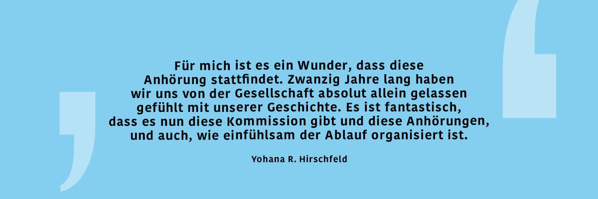 Yohana R. Hirschfeld