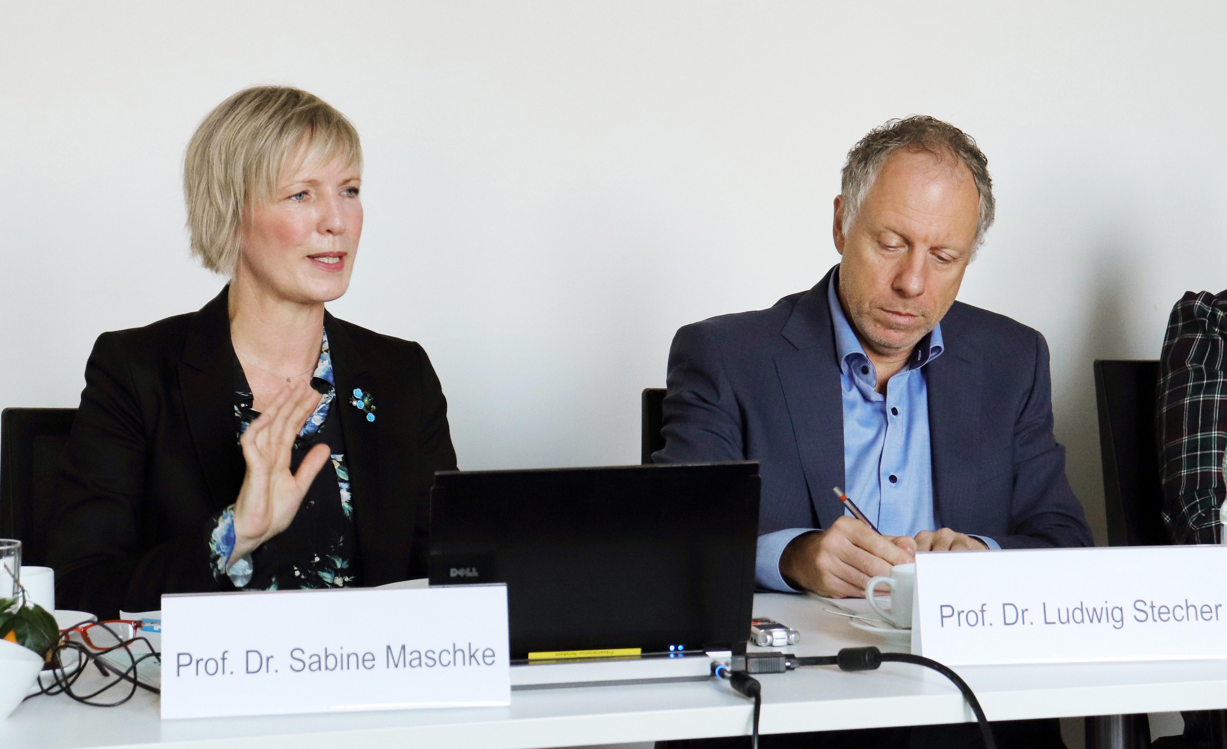 Prof. Dr. Sabine Maschke, Prof. Dr. Ludwig Stecher