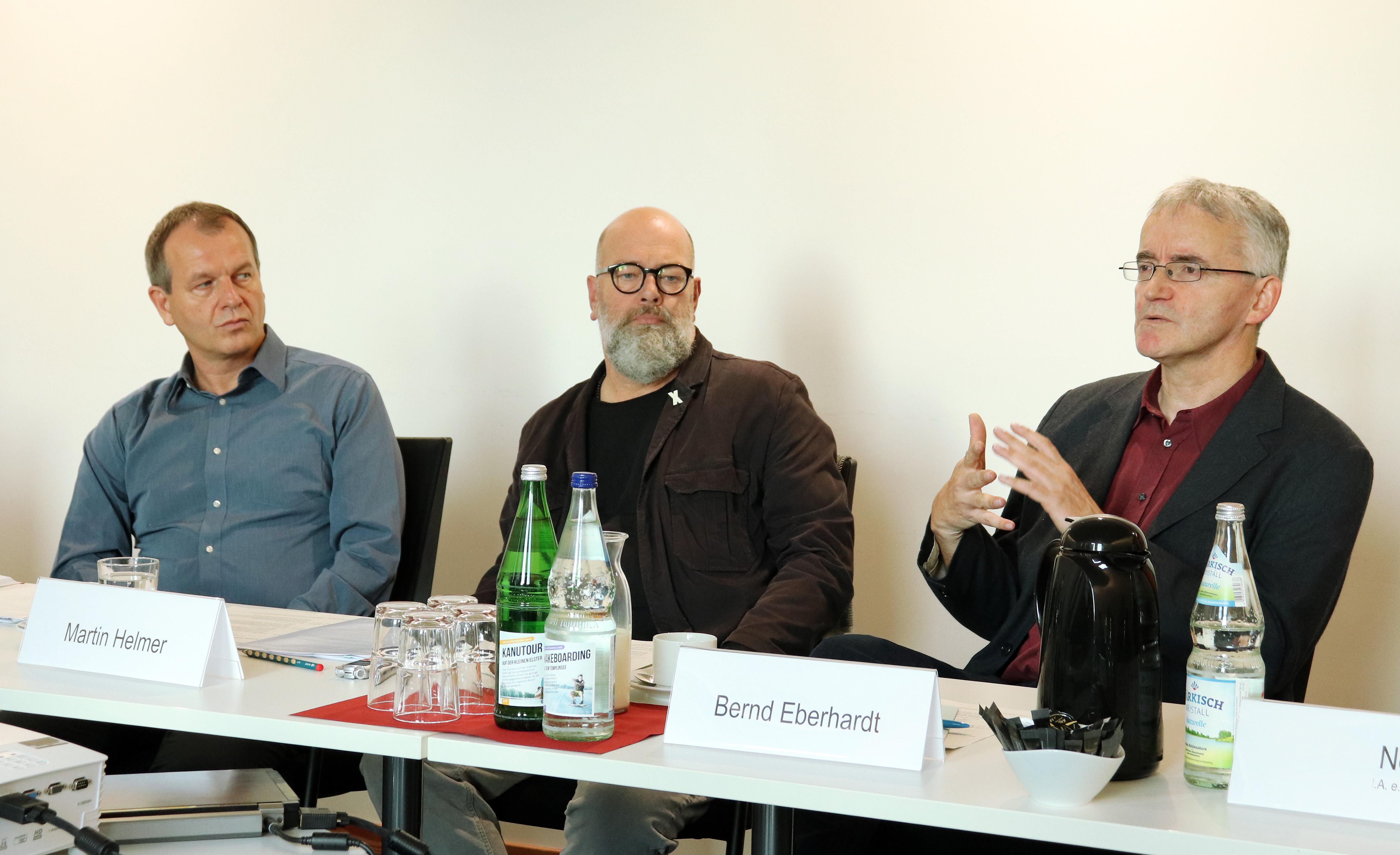 Ralf Specht, Martin Helmer, Bernd Eberhardt