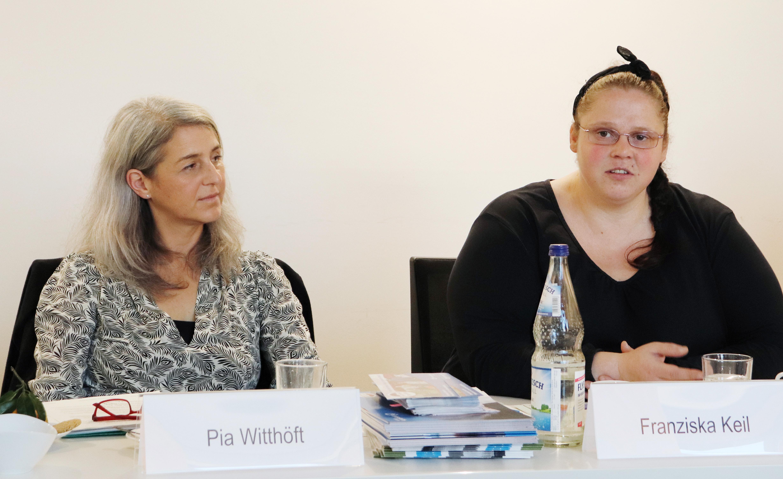 Pia Witthöft und Franziska Keil
