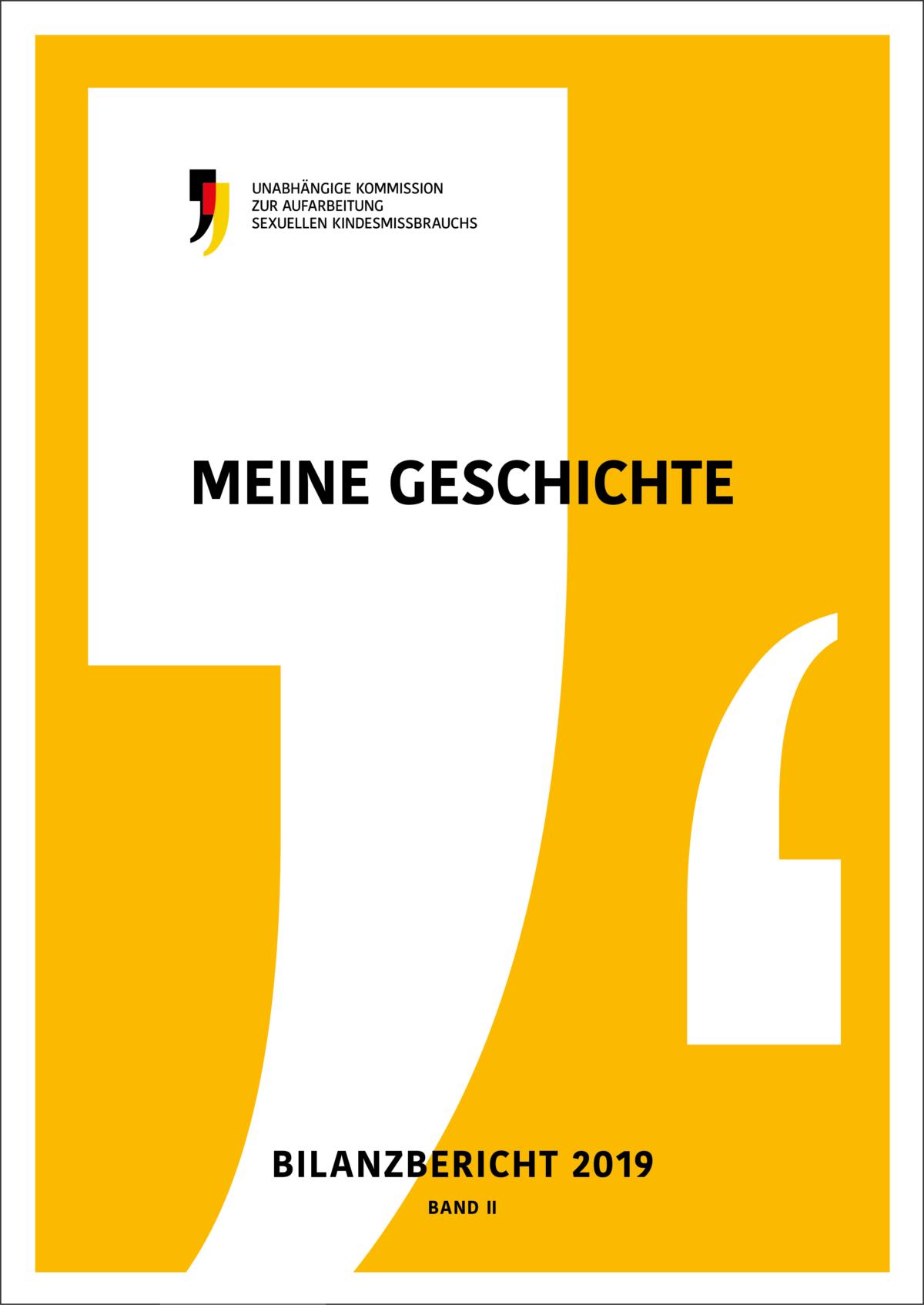 Cover des zweiten Bandes Meine Geschichte des Bilanzberichts 2019