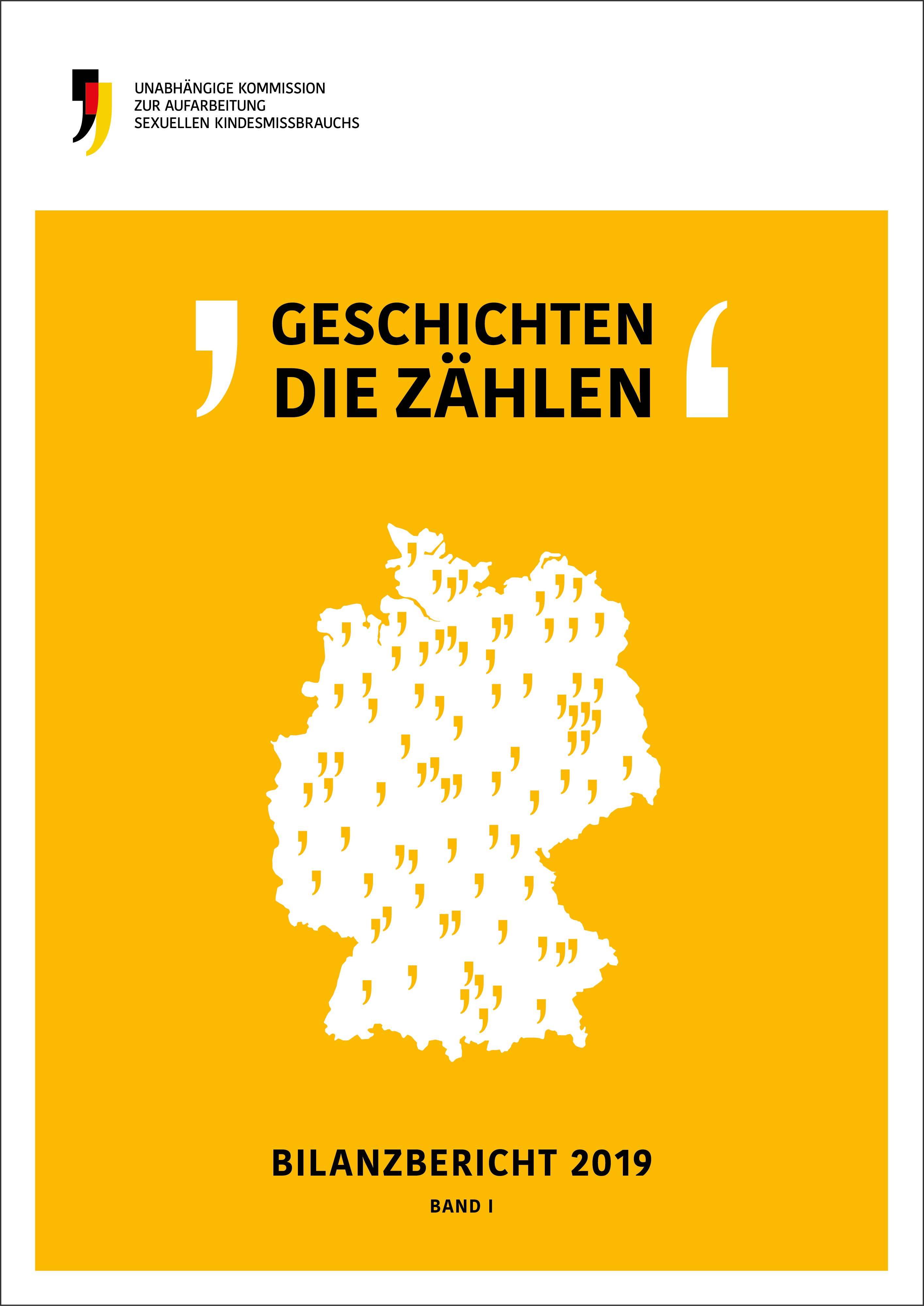 Cover des Bilanzberichts 2019