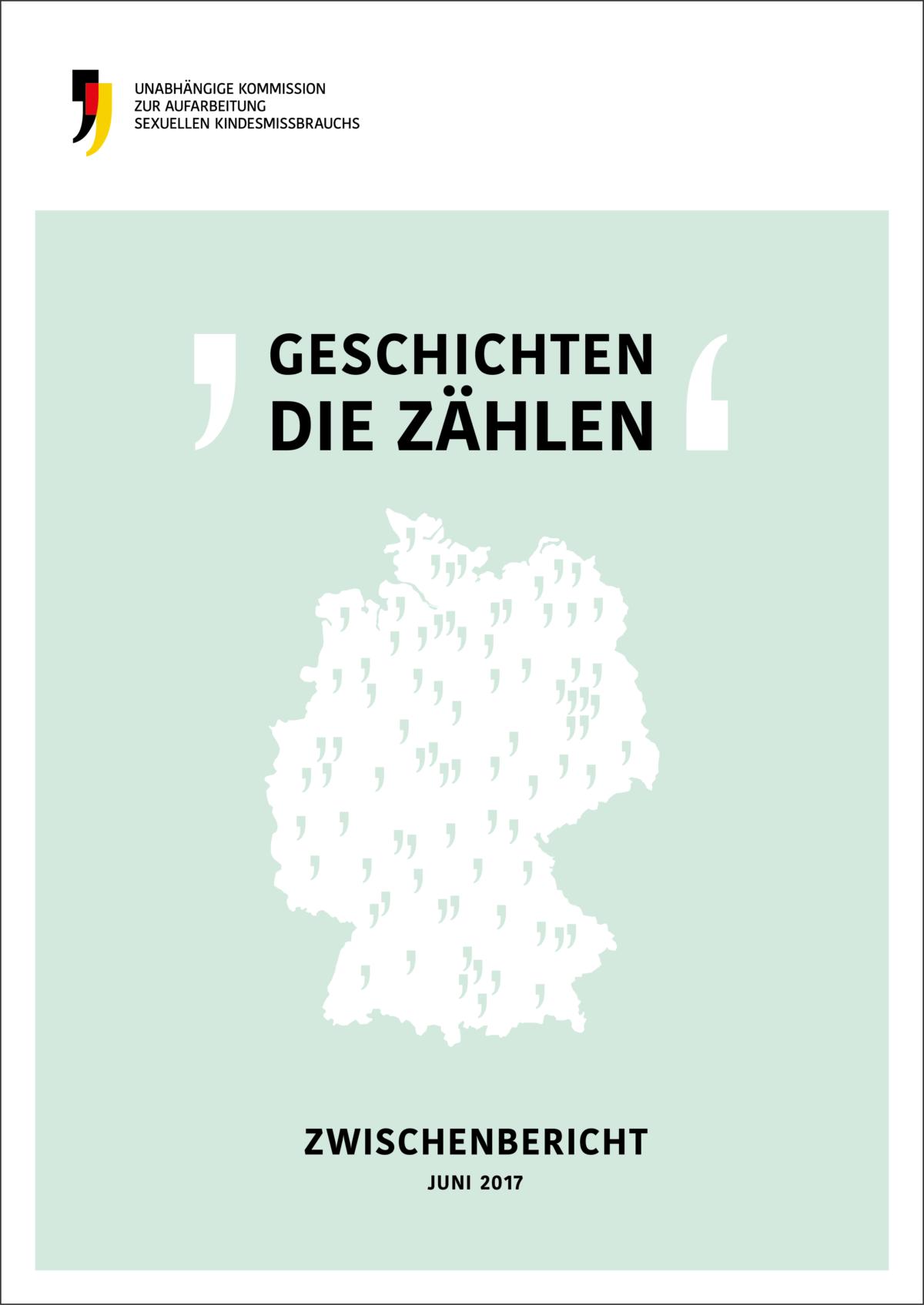 Cover des Zwischenberichts