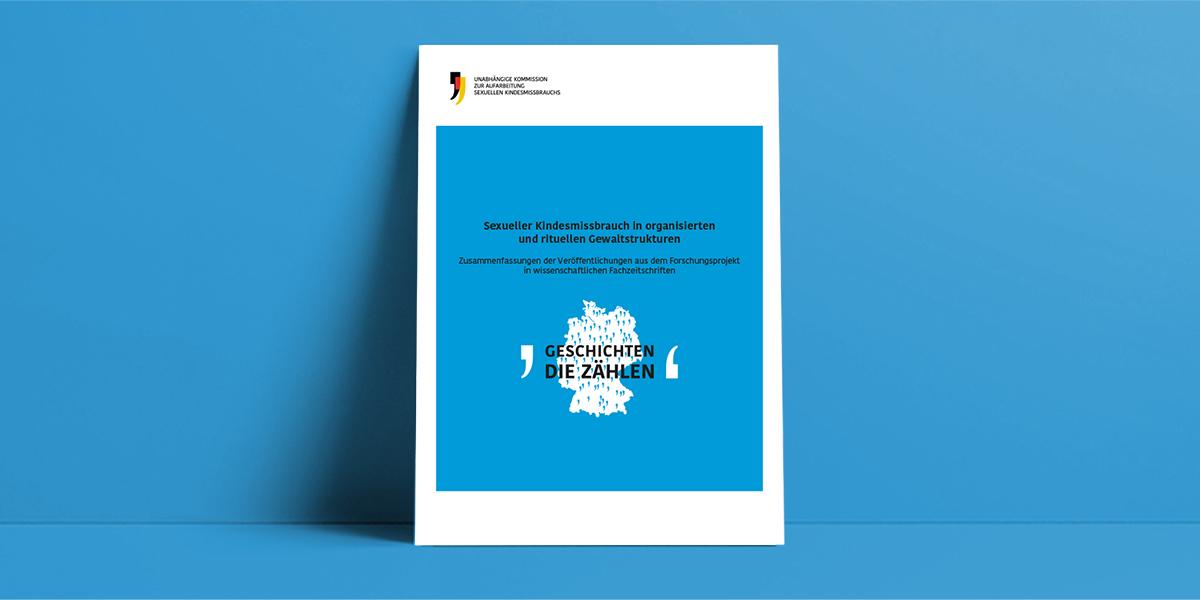 Cover der Publikation mit Ergebnissen aus dem Forschungsprojekt zur organisierten und rituellen Gewalt